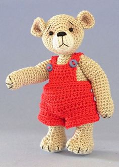 Ruby June - this would be perfect to go with the book Corduroy. You just need to have him loose a button.