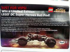 Limited Edition Bat-Pod Competition | Brickset: LEGO set guide and database