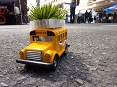 ways to get crops growing on top of buses