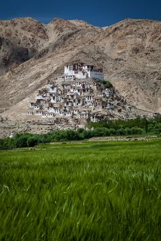 Chemre Monastery - Ladakh, Northern India by Andrea Schieber City Photo, India, Indie, Indian