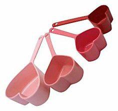 Dci Heart Measuring Cups, 4pc Set