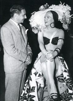 Marilyn Monroe and Irving Berlin on the set of There's No Business Like Show Business (1954)