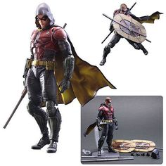 Batman: Arkham Knight Robin Play Arts Kai Action Figure