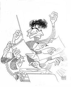 16 | 18 Of Al Hirschfeld's Greatest Drawings | Co.Design | business + design