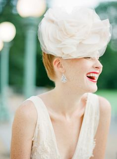 Couture headpiece | KT Merry + Stacie Ford Weddings