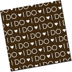 I DO - White - 25 Sheets for 30 dollars Chocolate transfer sheets