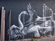 New Work by Faith47 on the Streets of London and Cape Town