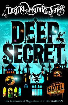 New Covers for Diana Wynne Jones book, Deep Secret. by duncan smith, via Behance