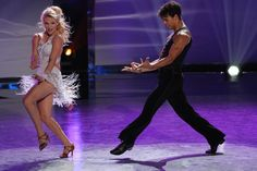 Top 6 contestants Witney Carson and Chebon Wespi-Tschopp perform a Cha Cha routine in the Top 6 performance episode!