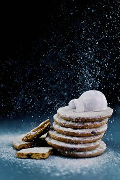 "Russian self-taught photographer Dina Belenko creates alluring still life images which she calls ""photoillustrations"". - Igloo (Powdered Sugar)"