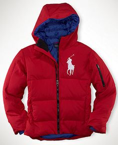 Polo Ralph Lauren Kids Jacket, Boys Down Jacket - Kids Coats ...