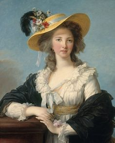 A portrait of Gabrielle Yolande Claude Martine de Polastron, Duchesse de Polignac (1749-1793). She was the favourite of Marie Antoinette. She died in exile, shortly after hearing of the execution of the Queen. This painting was made by Élisabeth-Louise Vigée le Brun (1755-1842), in 1782. Portraits, Elisabeth, Anglo Saxon, European History, Album, Marie Antoinette, King Queen, Historical Photos, Les Oeuvres