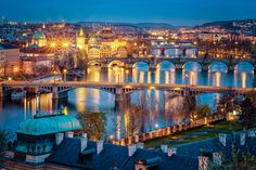 Photograph Prague Bridges by Ian Stafford on 500px