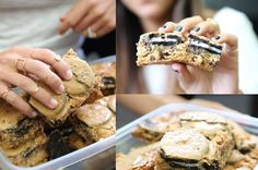 Oreo Chocolate Chip Cookie Brownie...OMG #recipe #diy