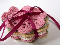 Crochet Mother's Day Coasters