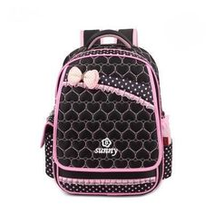 School Bag Nylon Children School Backpacks Set Princess primary school  Girls Backpacks High Quality Backpack e490d5bf73a51