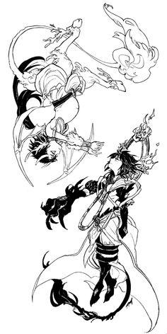 Magi | Sinbad & Ren Kouen