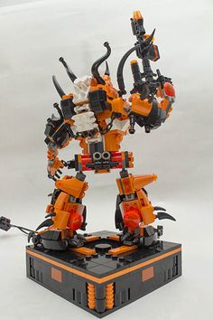 """""""Vyplex Mechanima rear pose base"""" by lucbyard: Pimped from Flickr"""