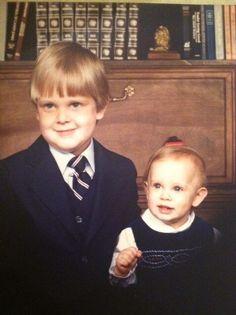Joe Bonamassa and his sister