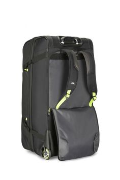 Purchase High Sierra Upright Wheeled Duffel at Luggage Pros. Shop for High Sierra in many colors, sizes and styles. Backpacking Hammock, Backpack With Wheels, Bucket List Destinations, Backpack Straps, Travel Bags, Adventure Travel, Zippers, Backpacks, Evolution