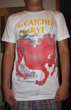 The Catcher In The Rye T-shirt - Doobybrain.com