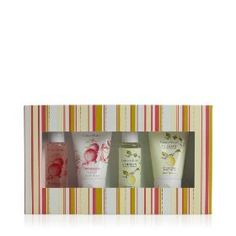 Crabtree & Evelyn Pomegranate & Citron Gel/Lotion Sampler 4 x 50ml