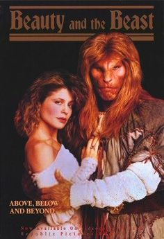 I'm obsessed with the 80's TV show version of Beauty and The Beast.