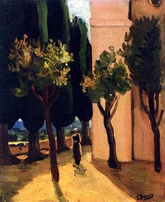 Street Scene - Andre Derain, circa 1920
