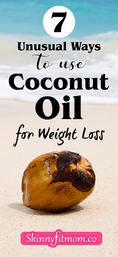 Many have heard of the powerful effects of coconut oil. However, not many know that you can use coconut oil for weight loss. You'll find in this article 7 unique ways to use coconut oil for weight loss. #coconutoil #weightloss #remedies #oil Best Weight Loss Foods, Fast Weight Loss Tips, Weight Loss Drinks, Weight Loss Smoothies, Egg Diet Plan, Diet Meal Plans, Raw Food Recipes, Healthy Recipes, Coconut Oil Weight Loss