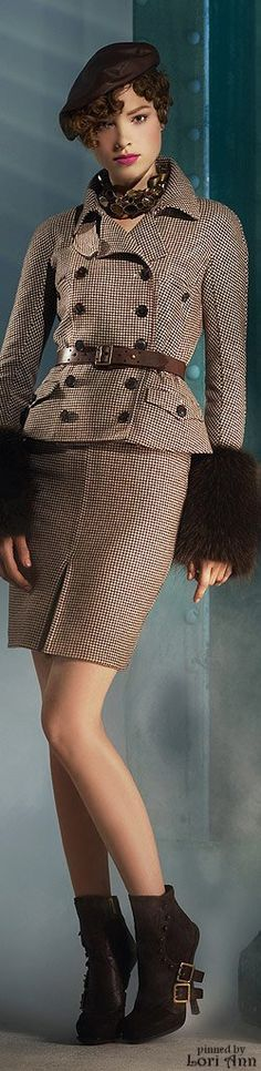 Christian Dior - perfect outfit and colors for autum/winter...