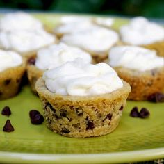 Chocolate Therapy: Frosted Cookie Cups