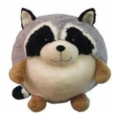 Button Tree Kids Squishables Racoon - Available at ButtonTreeKids.com #buttontreekids #children #childrens #child #kids #cute #onlineshop #girls #boys #toddler #baby #toys #plush #stuffedanimals #squishable #raccoon #teddybear #birthdaygift #birthday (ButtonTreeKids.com)