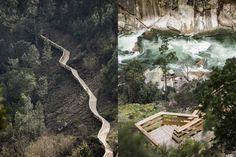 Nel paesaggio mozzafiato lungo il fiume Paiva, in Portogallo, lo studio d'ingegneria Trimérica ha realizzato un camminamento che dialoga con la natura, la morfologia del luogo e il panorama.