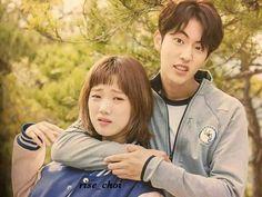 NJH Nam Joo Hyuk Lee Sung Kyung, Joon Hyuk, Swag Couples, Cute Couples, Drama Korea, Korean Drama, Weightlifting Fairy Kim Bok Joo Wallpapers, Weightlifting Kim Bok Joo, Weighlifting Fairy Kim Bok Joo