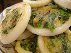 omgoodness! ... Stuffed Squid Rings | Korean Food Gallery – Discover Korean Food Recipes and Inspiring Food Photos