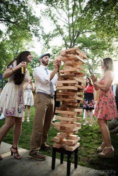 Wedding activity ideas - giant Jenga!