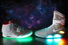competitive price d9285 49892  NIKE Air Yeezy 2, Nike Free Schuhe, Nike Mag, Beleuchtete Schuhe,