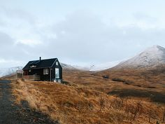 Hillside cottage in the West, Iceland // Oh, Ladycakes