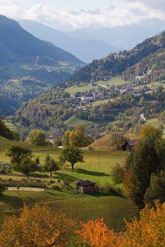 Lovely view near Ernen, Valais