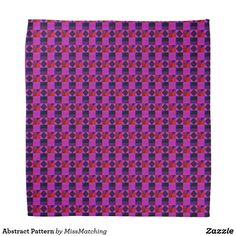 Abstract Pattern Bandana