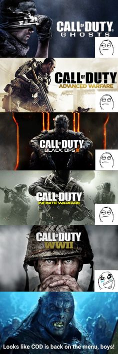 Me after the Call of Duty WWII announcement See more at: Super Shock Gaming Zone - Xbox Games - Trending Xbox Games for sales - Me after the Call of Duty WWII announcement See more at: Super Shock Gaming Zone www. Video Games Xbox, Video Game Memes, Xbox One Games, Ps4 Games, Gamer Humor, Gaming Memes, Call Of Duty Black Ops, Umaru, Cod Ww2