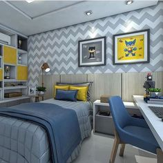 new ideas for baby boy bedroom colors awesome Boys Bedroom Colors, Boys Bedroom Decor, Kids Bedroom Furniture, Blue Furniture, Boys Room Design, Toddler Rooms, New Room, Home, Teenage Room Designs