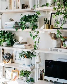 """269 Likes, 3 Comments - Artifact: Creative Recycle (@artifactpdx) on Instagram: """"A Sunday #shelfie to help step up your office game! 🍃 (@pennyshields via @ruemagazine)"""""""