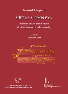 Libreria Medievale: Opera completa di Nicolò del Preposto
