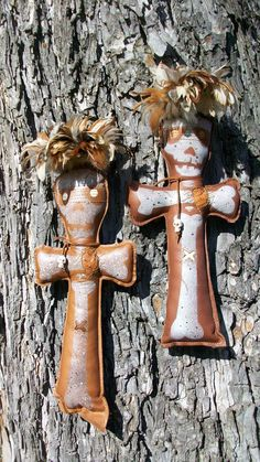 Hoodoo Magick Rootwork:  Leather Witch Doctor #Voodoo Doll.