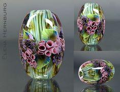 Handmade Beads, Bead Art, Lampwork Beads, Bead Weaving, Bead Crafts, Beaded Embroidery, Glass Art, Glass Beads, Lampworking