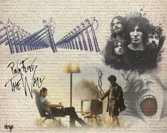 Pink Floyd: The Wall. Brilliant fucking album, thus a brilliant fucking film. Pink Floyd More, Pink Floyd Poster, Pink Floyd Albums, The Dark Side, Psychedelic Bands, Berlin, Great Works Of Art, Roger Waters, Amazing Street Art