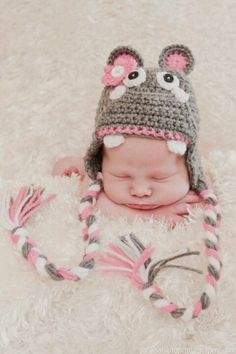 Hippo Hat - want this for my babies!