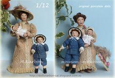 Muñecas Miniatura 1/12 y 1/24 de creación