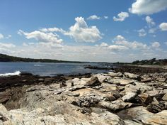 Biked Peaks Island Maine!